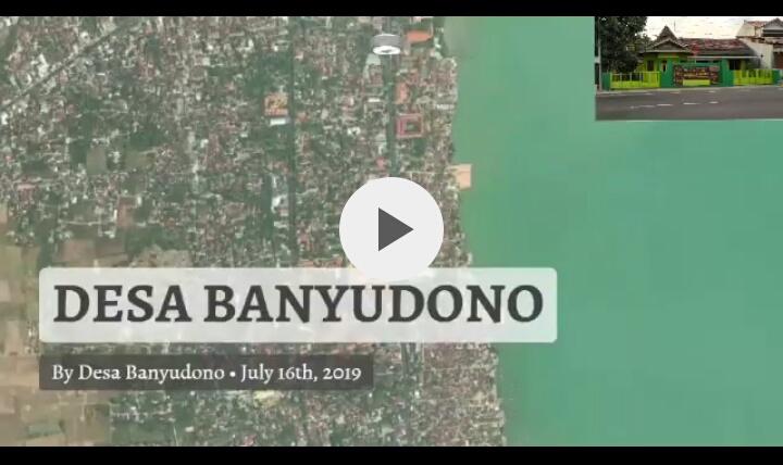 Denah Lokasi Desa Bnyudono Kaliori Rembang